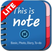 This Is Note Lite for iPhone