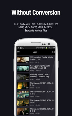 KMPlayer for Android 2.3.7