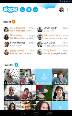 Skype for Android 官方中文版 7.45.0.598