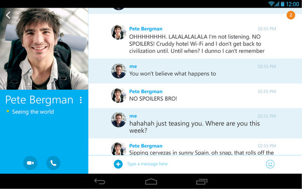 Skype for Android 官方中文版 7.31.0.280