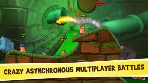 Worms 3 百战天虫3 for iOS 1.22