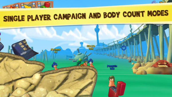 Worms 3 百战天虫3 for iOS 1.24