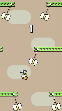 Swing Copters 摇摆直升机 for iOS 1.2.0