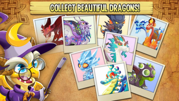 Dragon City Mobile 龙之城 for iOS 5.0