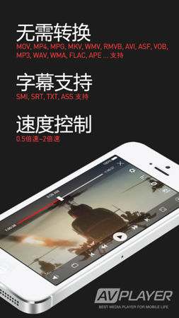 AVPlayer For iPhone 2.84
