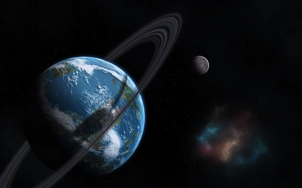 what four planets have rings - photo #41